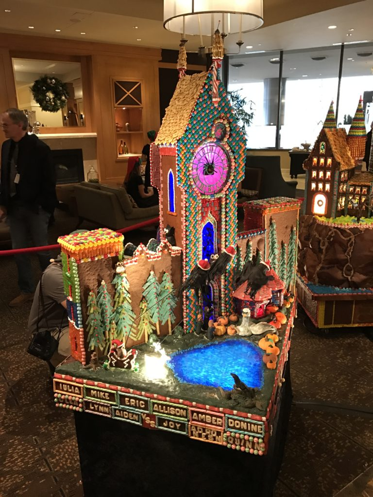 Seattle architecture firms work to cure T1D at the Gingerbread Village.